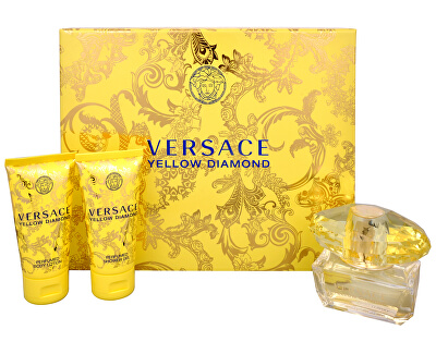 Yellow Diamond - EDT 50 ml + Körperlotion 50 ml + Duschgel 50 ml