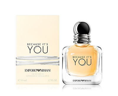 Emporio Armani Because It's You - EDP - SLEVA - poškozená krabička