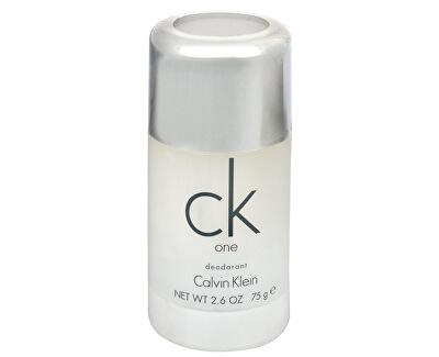 CK One - tuhý deodorant - SLEVA - poškozené víčko (prasklé)