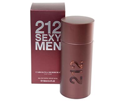 212 Sexy For Men - EDT - SLEVA - bez celofánu