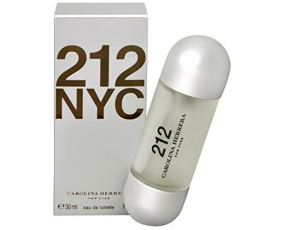 212 - EDT - REDUCERE - fără celofan, lipsește cca 1 ml