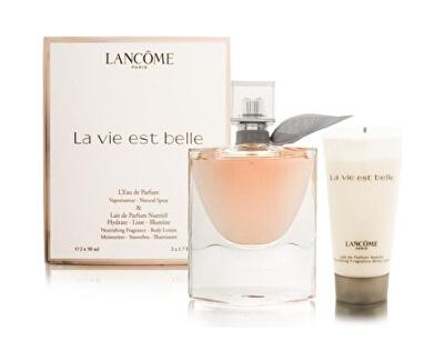 La Vie Est Belle - EDP 50 ml + Loțiune de corp 50ml - REDUCERE - cutie ridat