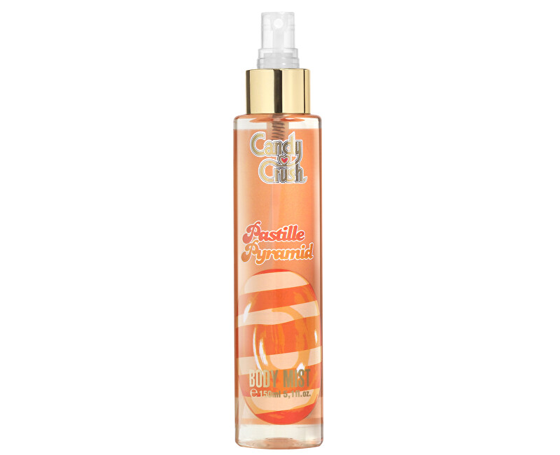 Candy Crush Pastille Pyramid - tělový závoj 150 ml