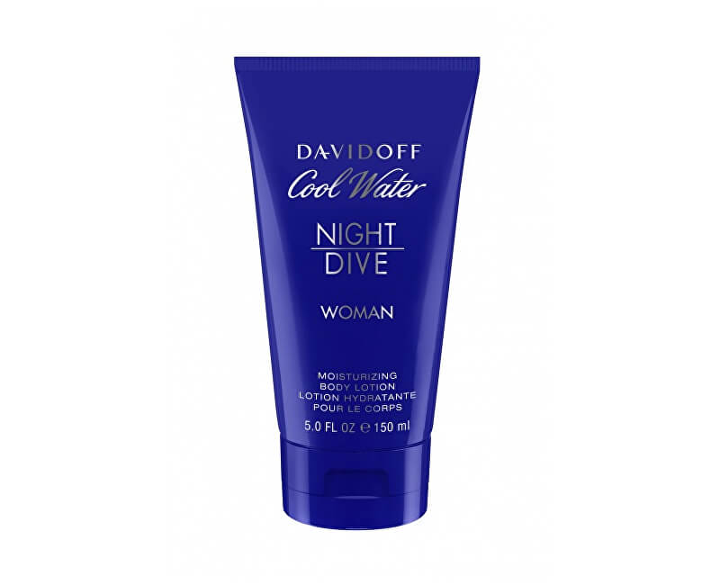 Davidoff Cool Water Night Dive For Women - tělové mléko 150 ml