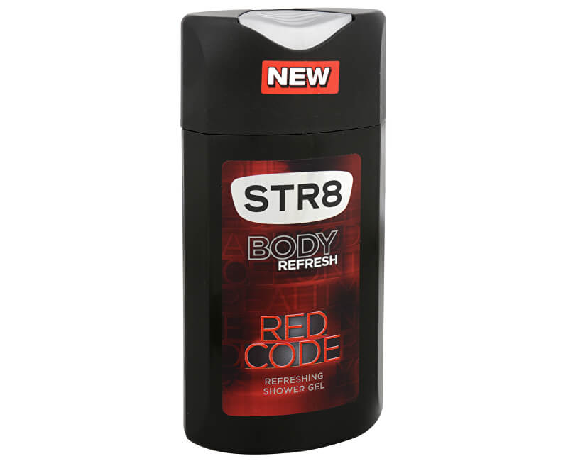 STR8 Red Code - sprchový gel 250 ml
