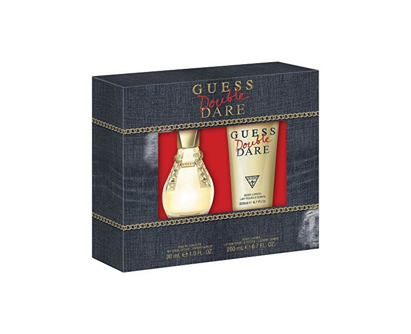 Guess Double Dare - EDT 30 ml + tělové mléko 200 ml