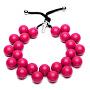 Originální náhrdelník C206 18 2436 Fuscia