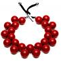 Originálny náhrdelník C206 19-1557 Rosso peperoni
