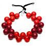 Originální náhrdelník C206SEAS-020 - Rosso - Bordeaux - Rosso trasparete - Rosso