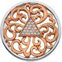 Prívesok Hot Diamonds Emozioni Cleopatra Coin RG EC468-EC469