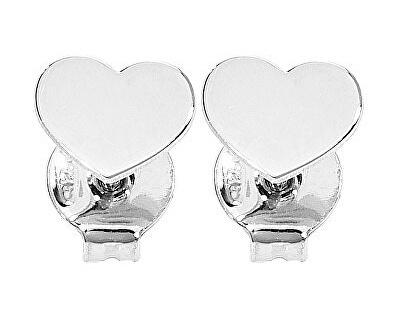 Originální stříbrné náušnice Pray, Love ORHB