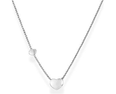 Originálne strieborný náhrdelník Love CLGHB3