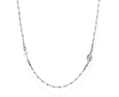 Originálne strieborný náhrdelník Rosary CROBD3