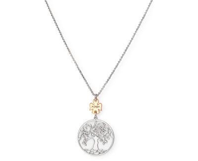 Originálne strieborný náhrdelník Tree of Life CLALABR3 (retiazka, prívesok)