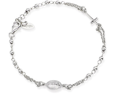 Originální stříbrný náramek Rosary BROB3