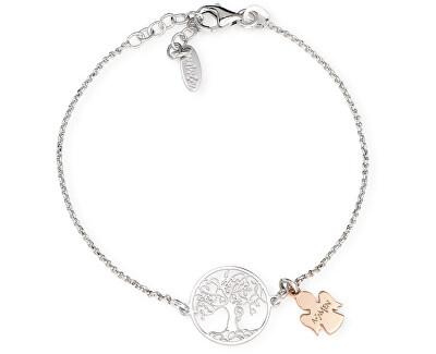 Originální stříbrný náramek Tree of Life BRALABR3