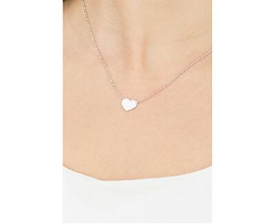 Originálne strieborný náhrdelník Pray, Love CLHB3