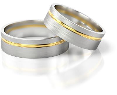 Pánský snubní prsten ze zlata AUG139