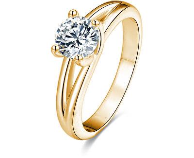 Stříbrný prsten s krystaly AGG199