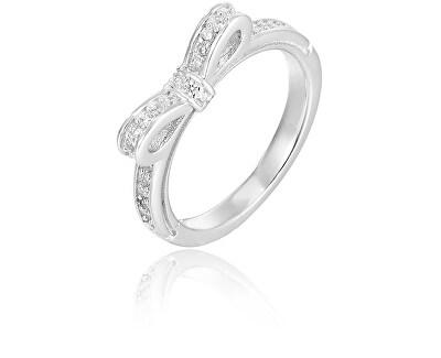 Stříbrný prsten s mašličkou AGG210