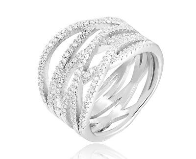 Inel din argint cu zirconiu AGG341