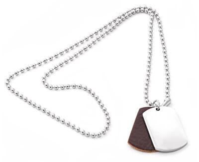 Moderní pánský ocelový náhrdelník SR623