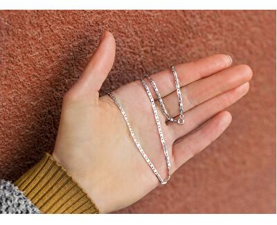 Zeitlose Silberkette AGS1129