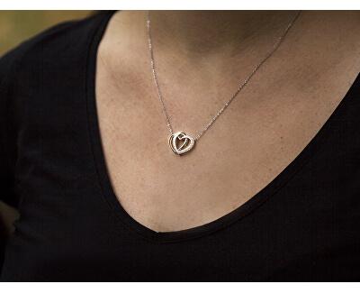 Stříbrný náhrdelník se srdíčkem AGS779/48