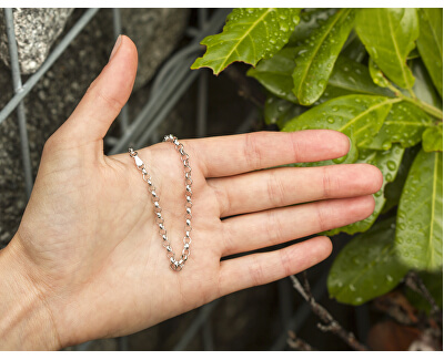 Stylový stříbrný náramek Anker AGB37