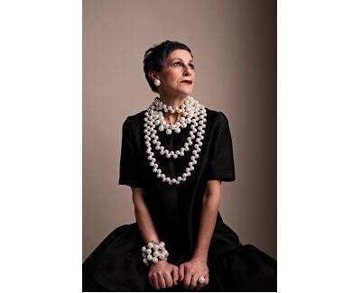 Originální perlové náušnice CocoBalls  O154-PERLA