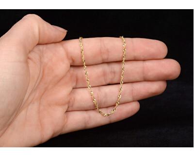 Damen Gold Lambada Armband 18 cm 261 115 00197
