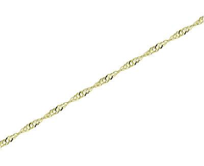 Zlatý dámsky retiazka Lambáda 50 cm 271 115 00182