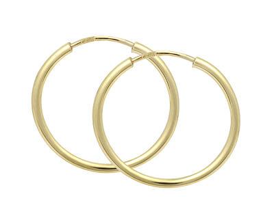 Cercei de aur cercuri 231 001 00278