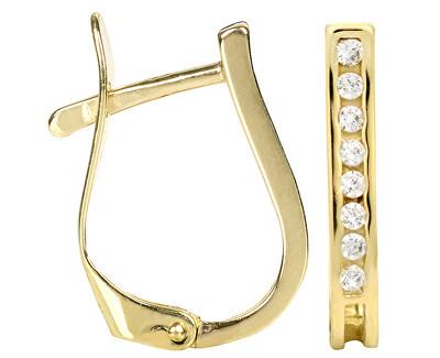 Cercei de aur cu cristale 239 001 00559
