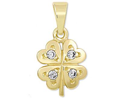 Pandantiv din aur cu cristale Cloverleaf 249 001 00371