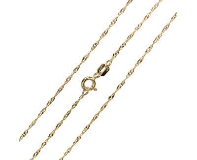Luxusné retiazka zo žltého zlata 45 cm 271 115 00181