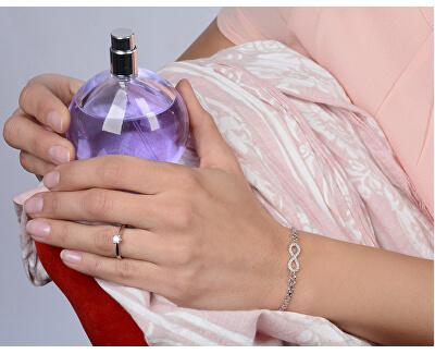 Stříbrný zásnubní prsten 426 001 00501 04