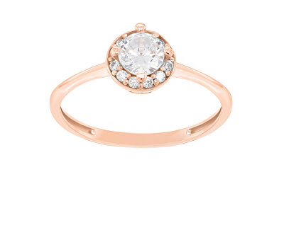 Bronzový zásnubní prsten GR003R