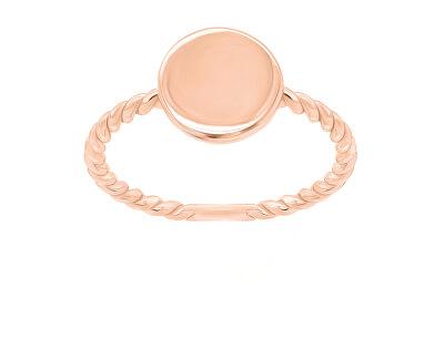 Minimalistický bronzový prsten GR106R