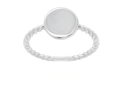 Minimalistický stříbrný prsten GR106W