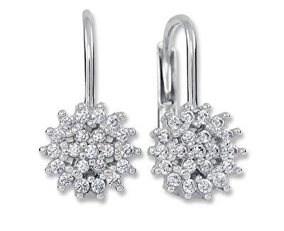 Okouzlující stříbrné náušnice s krystaly 436 001 00571 04