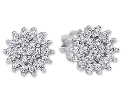 Okouzlující stříbrné náušnice s krystaly 436 001 00570 04