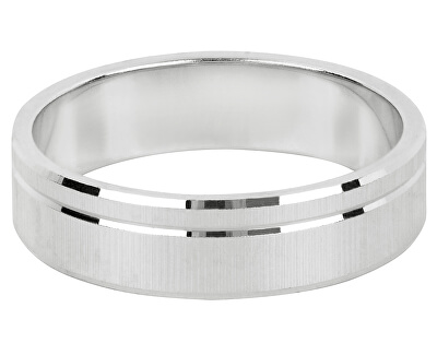 Stříbrný snubní prsten pro muže a ženy 422 001 09073 04