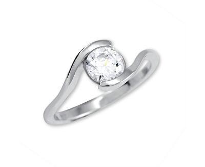 Stříbrný zásnubní prsten 426 001 00422 04 - 1,98 g