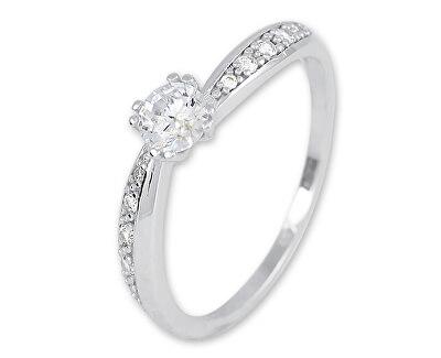 Stříbrný zásnubní prsten 426 001 00574 04