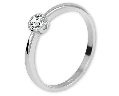 Stříbrný zásnubní prsten 426 001 00575 04