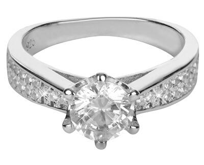 Stříbrný zásnubní prsten 426 158 00081