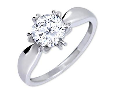 Výrazný zásnubní prsten 426 001 00502 04