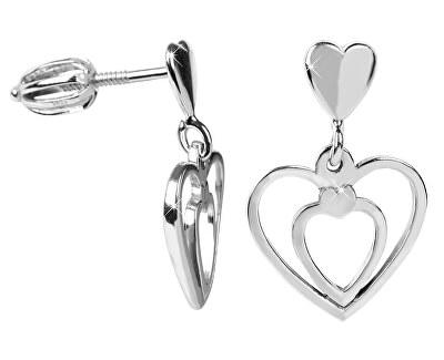 Zamilované náušnice Srdce 431 001 02719 04