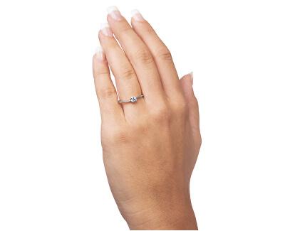 Stříbrný prsten s krystalem 426 001 00538 04